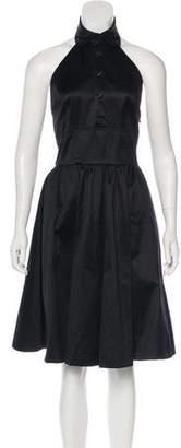 Ralph Lauren Sleeveless Midi Dress