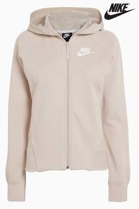 Next Womens Nike Sand Tech Fleece Full Zip Hoody