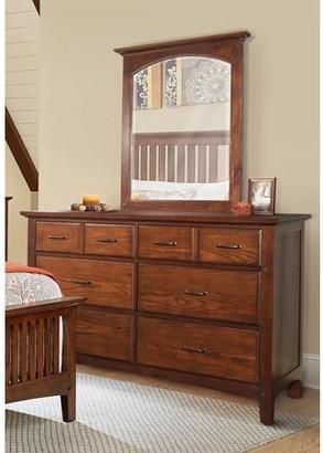 Inspired by Bassett Modern Mission Dresser with Mirror