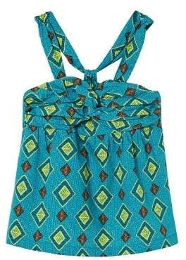 MANGO Printed cotton top