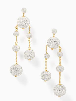 Kate Spade Razzle dazzle asymmetrical earrings