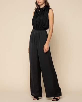 Juicy Couture Annabelle Lace & Soft Satin Jumpsuit