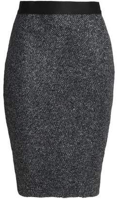 Bailey 44 Mama Bear Marled Bouclé-Knit Skirt