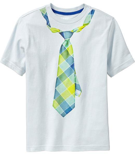 """Old Navy Boys """"Tie"""" Graphic Tees"""