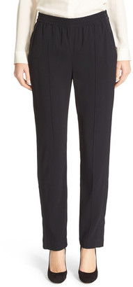 Theory Viewpine C Bergen Ankle Zip Pant $325 thestylecure.com