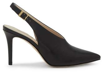 Louise et Cie Jilliana Leather Sling Back Pumps eIQ3JMsy
