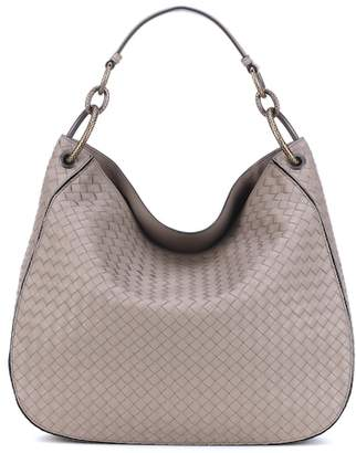 Bottega Veneta Large Loop intrecciato leather tote