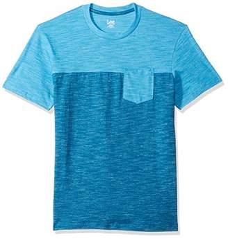 Lee Men's Short Sleeve Crew Neck Tee Shirt