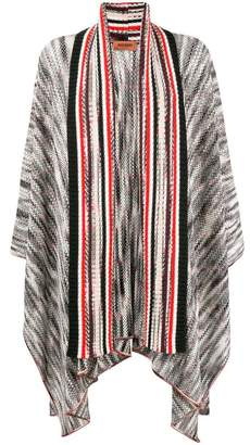 Missoni striped open front cardigan