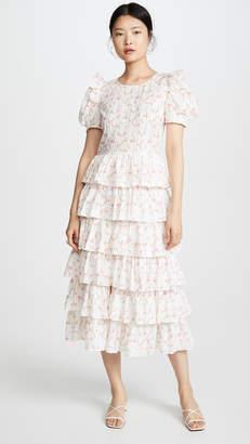 Caroline Constas Rose Dress