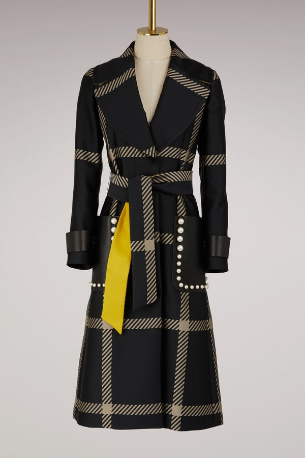 Fendi Slim-fit trench coat