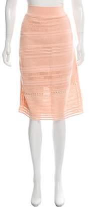 Ohne Titel Crocheted Knee-Length Skirt w/ Tags
