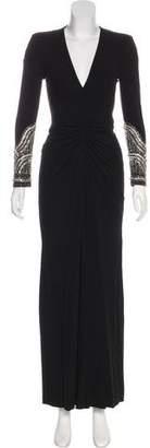 Alexander McQueen Embellished Evening Dress
