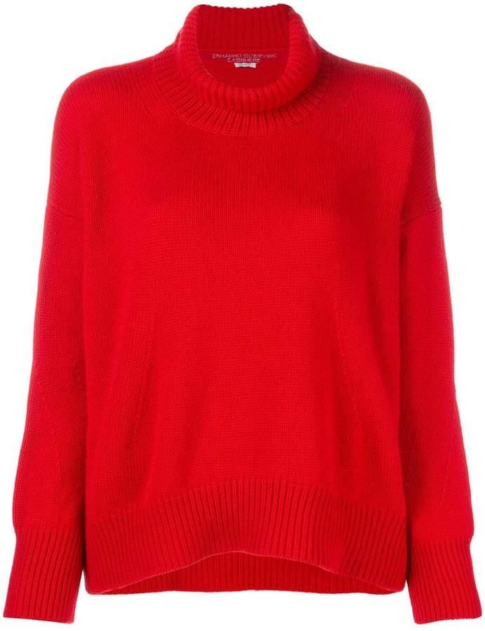 Ermanno Scervino turtle neck knit jumper