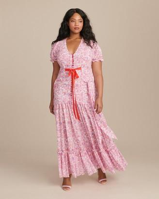 Ryan Lo Puff Sleeve Victorian Tea Gown