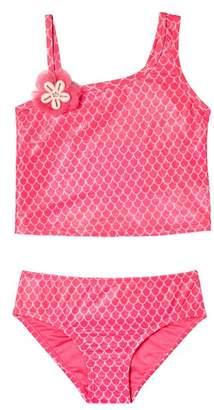 Hula Star Mermaid Princess Two-Piece Tankini Swimsuit