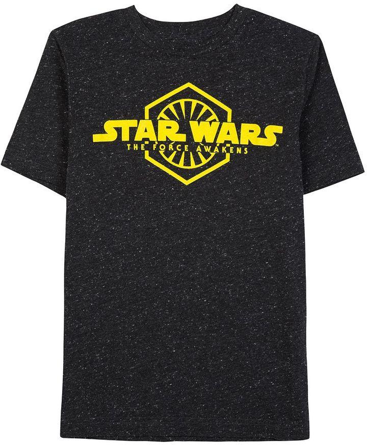 Boys 8-20 Star Wars: Episode VII The Force Awakens Glowing Order Tee