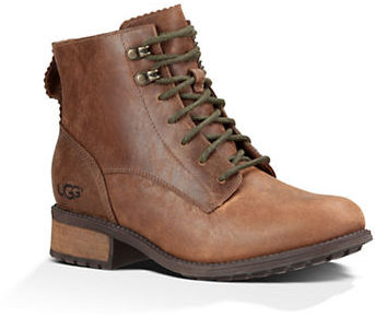 UGG Ugg Denhali UGGPure Leather Lace-Up Boots