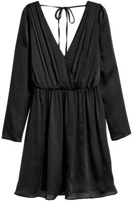 H&M Chiffon Dress - Black
