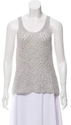 Eileen Fisher Sleeveless Embellished Top