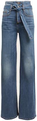 Veronica Beard Rosanna Wide Leg Jeans