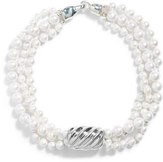 Simon Sebbag Shell Imitation Pearl Torsade Necklace