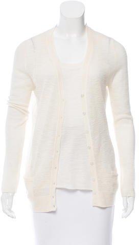 Marc JacobsMarc Jacobs Wool & Cashmere-Blend Two-Piece Cardigan Set