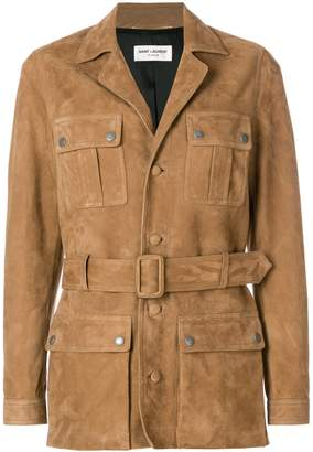 Belted Safari Jacket