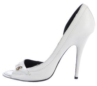Givenchy Leather d'Orsay Pumps