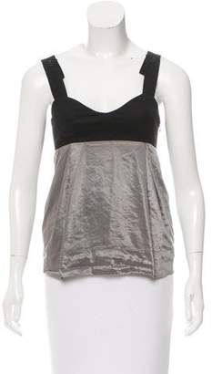 See by Chloe Sleeveless Colorblock Top