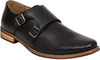 Deer Stags Men's Double Monk Strap Shoes - Cyprus Perf