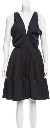 Maison Rabih Kayrouz Knee-Length Silk Dress w/ Tags