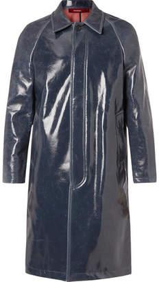 Sies Marjan Blaine Glossed Virgin Wool-Blend Coat