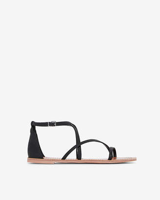 Express Strappy Asymmetrical Sandals