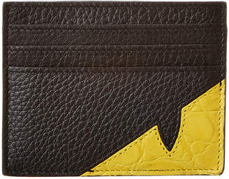 Fendi Six Slots Leather Card Holder
