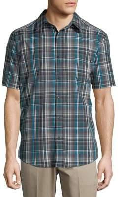 Marmot Dobson Plaid Short-Sleeve Button-Down Shirt