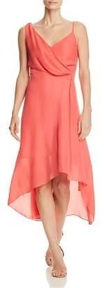 Parker Pippy Asymmetric Draped Dress