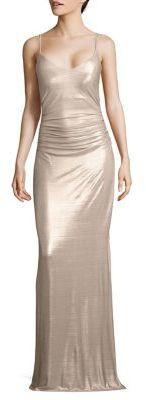 Laundry by Shelli Segal Spaghetti Strap Gown $275 thestylecure.com