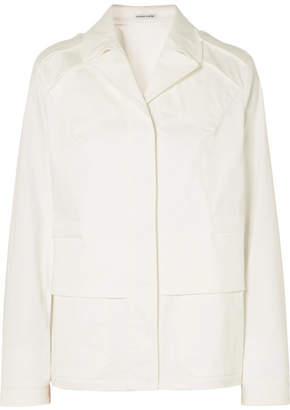 Tomas Maier Cotton-poplin Jacket - White