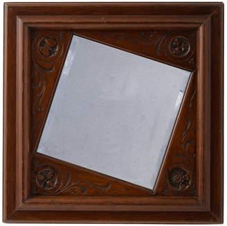 Rejuvenation Offset Mirror w/ Hand-Carved Frame