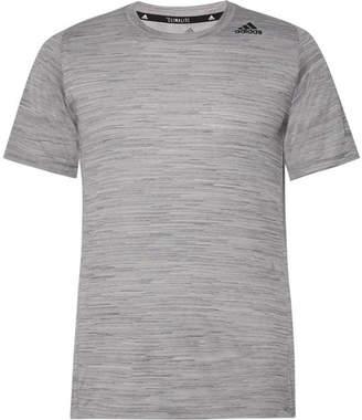 adidas Sport - Ultimate Tech Melange Climalite T-Shirt - Gray
