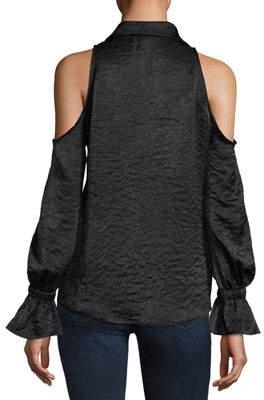 Waverly Grey Tessa Cold-Shoulder Top