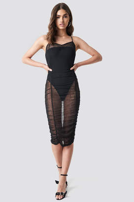 Motel Rocks Mauna Dress Black