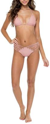 Luli Fama Grommet-Seamless Triangle Top