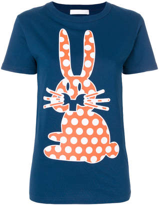Peter Jensen Polka Dot Rabbit T-shirt