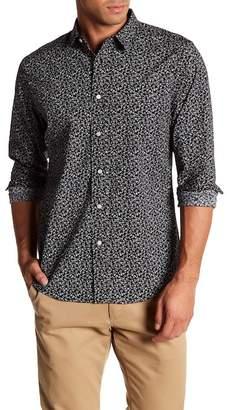 Slate & Stone Music Note Print Regular Fit Shirt