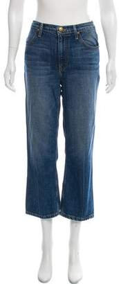 The Great Mid- Rise Straight- Leg Jeans