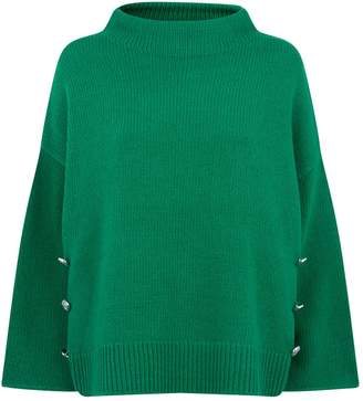 Claudie Pierlot Button Detail Sweater