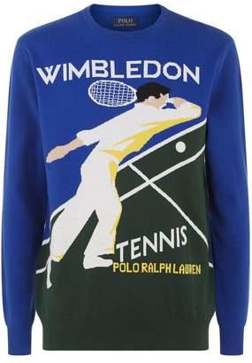 Polo Ralph Lauren Wimbledon Motif Sweater