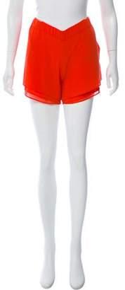 Enza Costa Tiered Mini Shorts